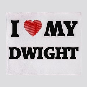 I love my Dwight Throw Blanket