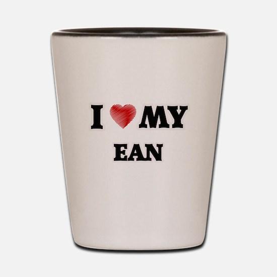 I love my Ean Shot Glass