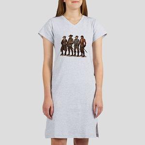 Three Musketeers Women's Nightshirt