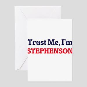 Trust Me, I'm Stephenson Greeting Cards