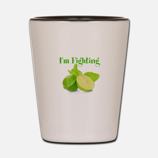 Fighting Shot Glass