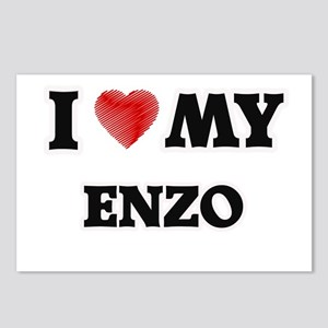 I love my Enzo Postcards (Package of 8)