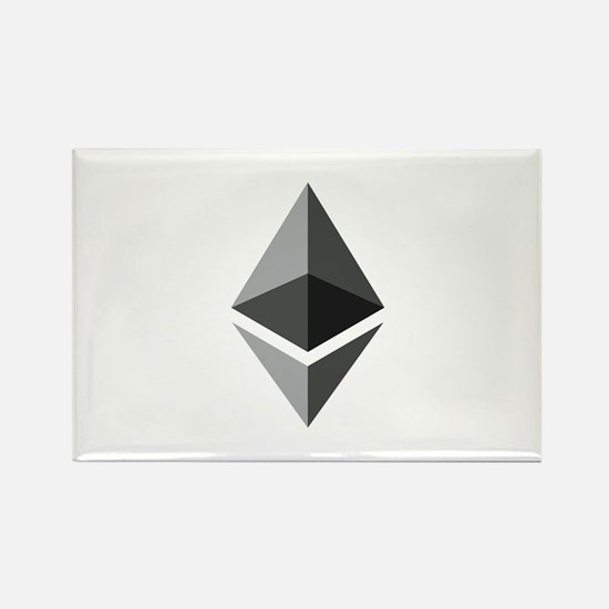 HD Ethereum Official Logo Ethereum Coin Magnets