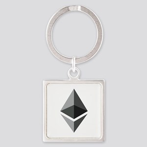 HD Ethereum Official Logo Ethereum Coin Keychains