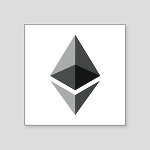 HD Ethereum Official Logo Ethereum Coin Sticker
