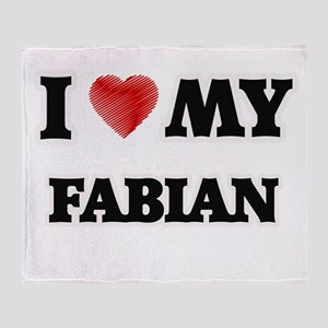 I love my Fabian Throw Blanket