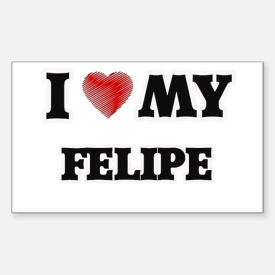 I love my Felipe Decal