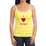 I Love Of Yeshua Jr. Spaghetti Tank