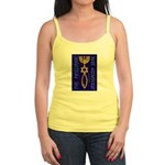The Messianic Jerusalem Seal Jr. Spaghetti Tank