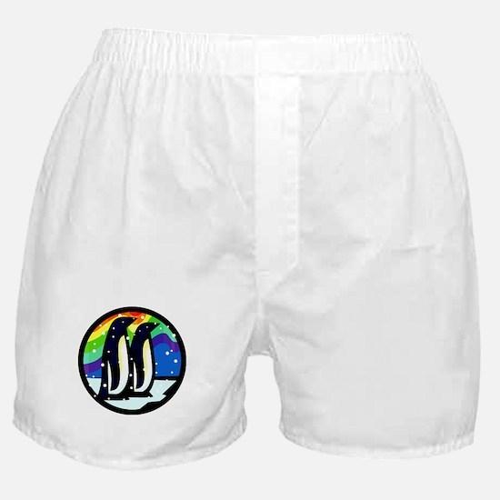Gay Penguin Boxer Shorts