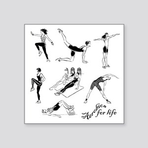 Aerobics Design Sticker