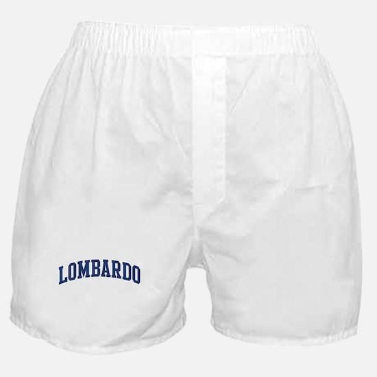 LOMBARDO design (blue) Boxer Shorts
