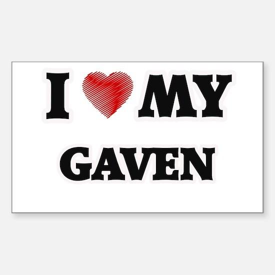 I love my Gaven Decal