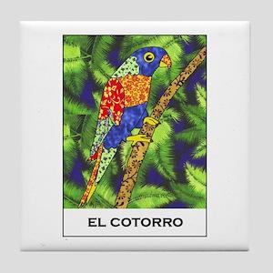 El Cotorro Tile Coaster