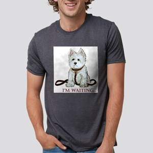 Westie Walks Ash Grey T-Shirt