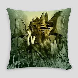 Beautiful fairy Everyday Pillow
