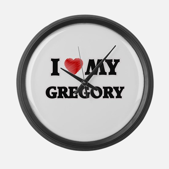 I love my Gregory Large Wall Clock