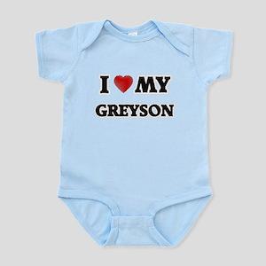 I love my Greyson Body Suit