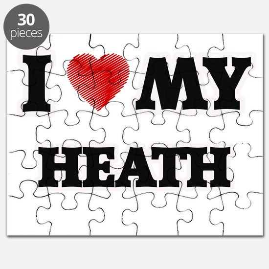 I love my Heath Puzzle