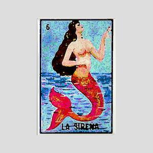 La Sirena Rectangle Magnet