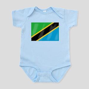 Tanzania Flag Body Suit