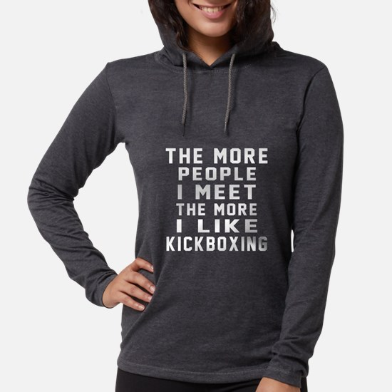 I Like kickboxing Long Sleeve T-Shirt