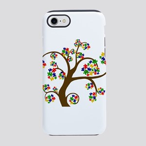 Puzzled Tree of Life iPhone 8/7 Tough Case