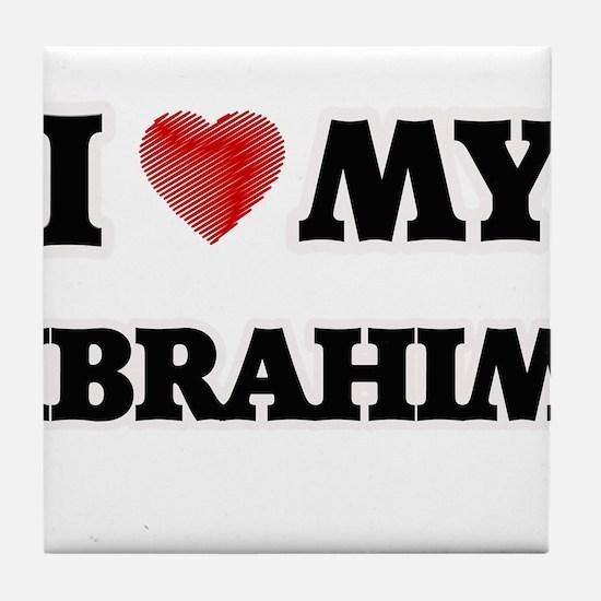 I love my Ibrahim Tile Coaster