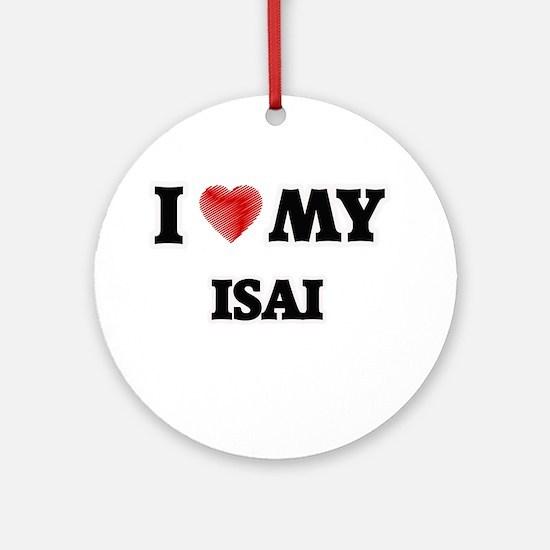 I love my Isai Round Ornament