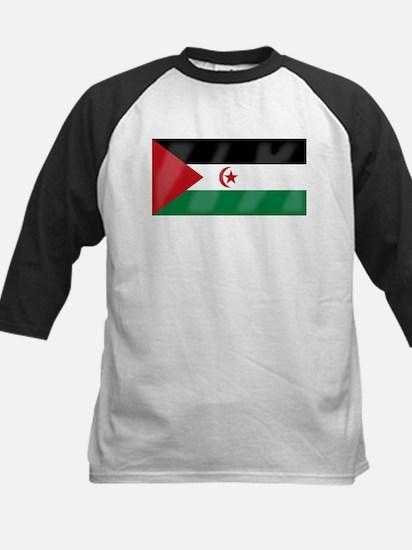 Western Sahara Flag Baseball Jersey