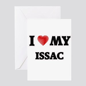 I love my Issac Greeting Cards