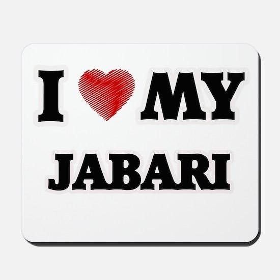 I love my Jabari Mousepad