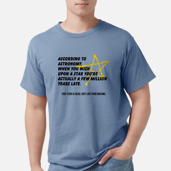 According to Astronomy T-Shirt