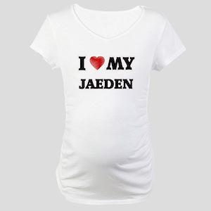 I love my Jaeden Maternity T-Shirt