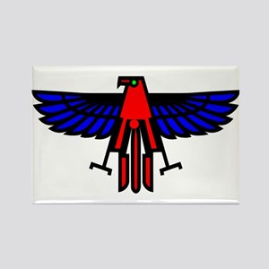Indian Eagle Totem Rectangle Magnet