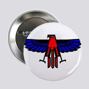 """Indian Eagle Totem 2.25"""" Button"""