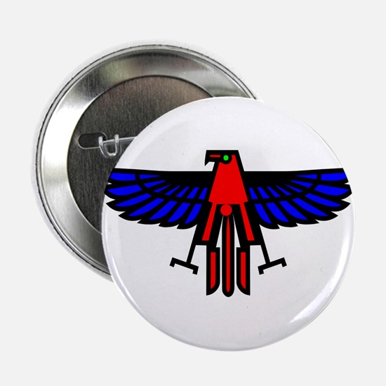 "Indian Eagle Totem 2.25"" Button"