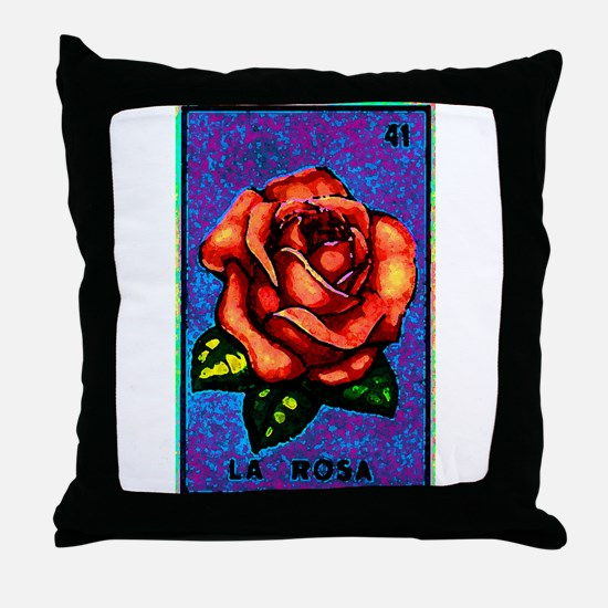 La Rosa Throw Pillow