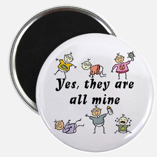 All Mine (6 Kids) Magnet