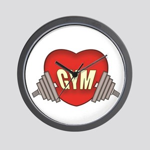 Love gym Wall Clock