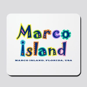 Tropical Marco Island -  Mousepad