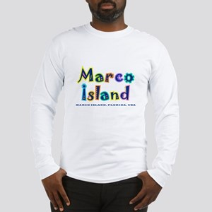 Tropical Marco Island - Long Sleeve T-Shirt