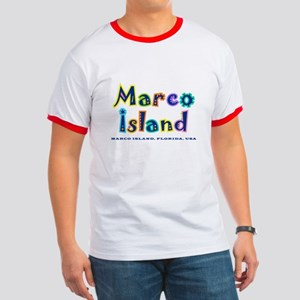 Tropical Marco Island -  Ringer T