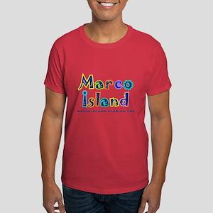 Tropical Marco Island - Dark T-Shirt
