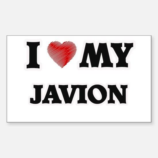 I love my Javion Decal