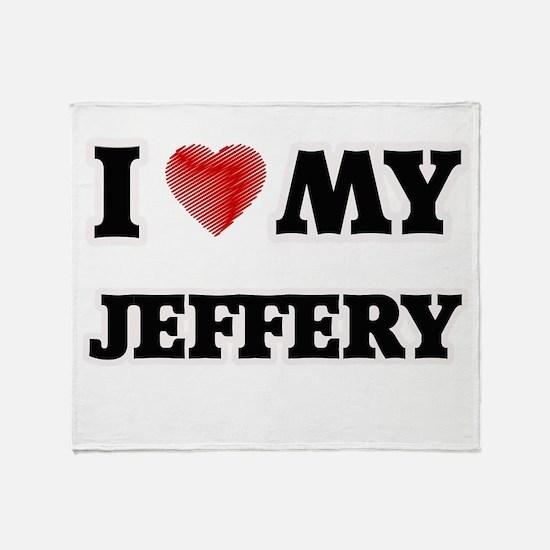I love my Jeffery Throw Blanket