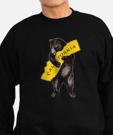 Vintage California Bear Hug Illustratio Jumper Sweater