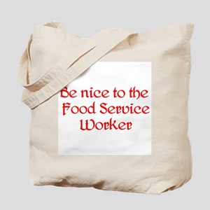 Food Service Worker Tote Bag
