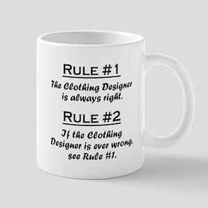 Clothing Designer Large Mugs
