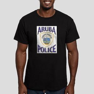 Aruba Police Ash Grey T-Shirt